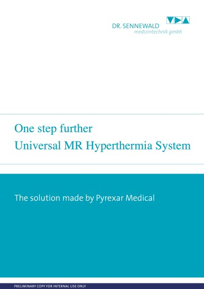 Universal MR Hyperthermia System